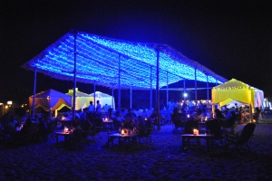 Bottle Bay, Baga Beach. Photo credit: Sandy